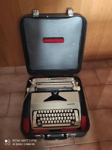 Starý psací stroj Consul s kufříkem model 222.1