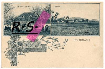 Rohožník - Rarbok , Rohrbach - Malacky , obchod , koláž , /5435/
