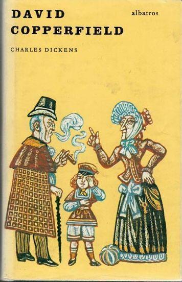 Charles Dickens David Copperfield ilustrace Zdeněk Mézl