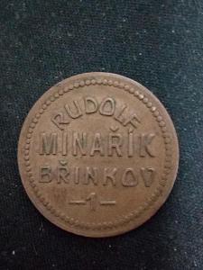 Chmelová známka Rudolf Minařík Břínkov 1