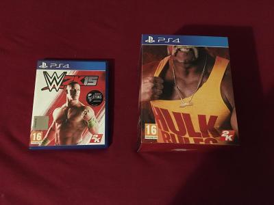 WWE 2K15: Hulkamania Edition - Sony PS4 NEPOUZITE KODY, collectors