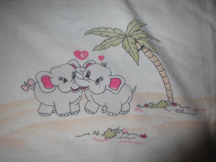 povlečení ložní 4 kusy sloni - Zařízení