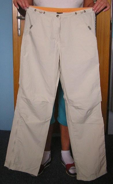 Dámské kalhoty FUNSTORM (vel. L) - béžové