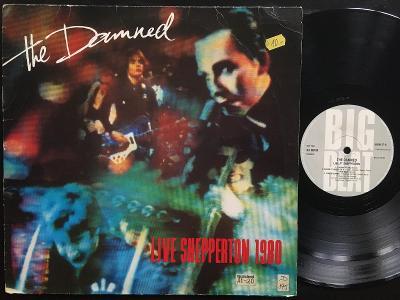 THE DAMNED-Live shepperton 1980-LP VG