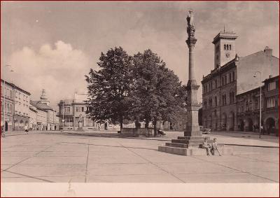 Frenštát pod Radhoštěm * náměstí * Nový Jičín (Beskydy) * V314