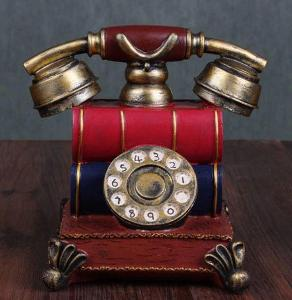 Vintage retro model telefonu
