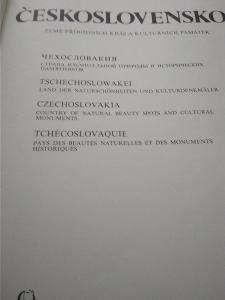 Prodám knihu fotografií Československo
