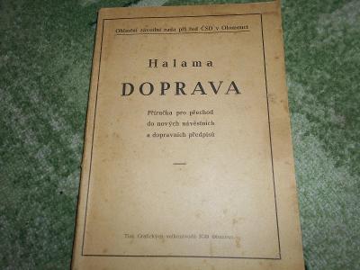 HALAMA DOPRAVA
