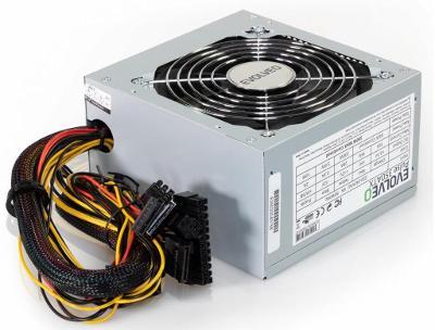 EVOLVEO PULSE 350W, PC zdroj , ATX 2.2, 12cm fan, PFC, 2xSATA