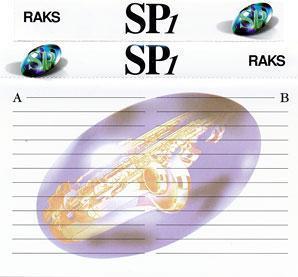 Audio Kazeta RAKS RAKS RAKS SP46 SP60 SP90 SP100 Kolekce 13ks MC