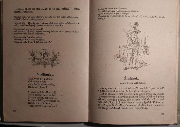 Čítanka pro 3. postupný ročník národních škol - Knihy