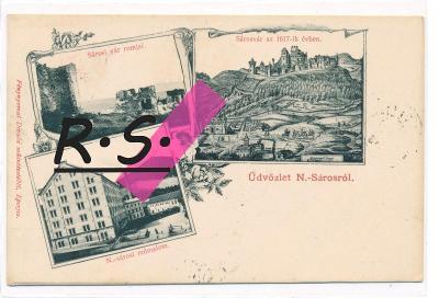 Veľký Šariš 1903 - Prešov , mlýn , /5444/