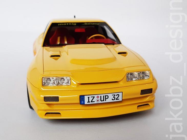 ---- Opel Manta B Mattig - 1:18 - BoS -------------------------------- - Modelářství