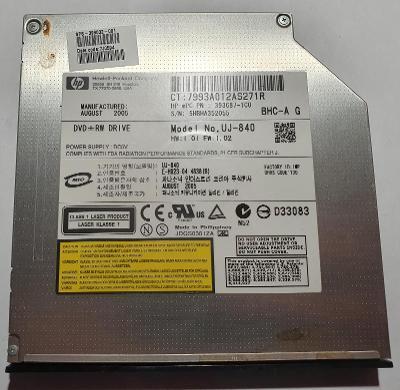 DVD-RW mechanika UJ-840 z notebooku HP Compaq nx6125