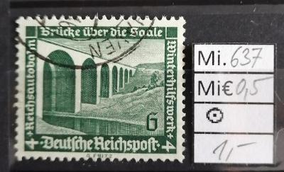 Deutsches Reich, DR Mi 637