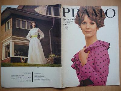 Německý časopis - PRAMO - PRAKTISCHE MODE - číslo 4. z roku 1969