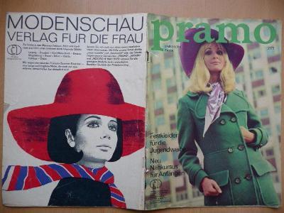 Německý časopis - PRAMO - PRAKTISCHE MODE - číslo 2. z roku 1971