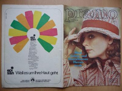Německý časopis - PRAMO - PRAKTISCHE MODE - číslo 9. z roku 1973