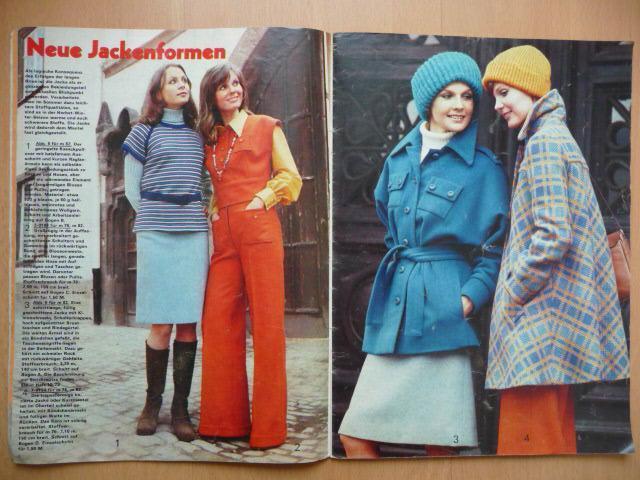 Německý časopis - PRAMO - PRAKTISCHE MODE - číslo 9. z roku 1973 - Časopisy