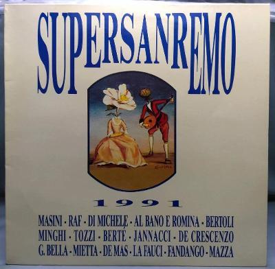Supersanremo 1991 Italy Vinyl LP 1.press