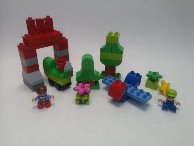 LEGO Duplo 10622 Velký box - 193 ks