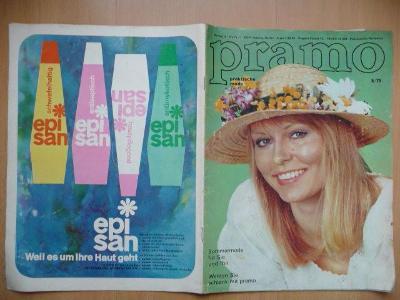 Německý časopis - PRAMO - PRAKTISCHE MODE - číslo 5. z roku 1975