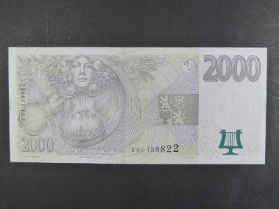 "2000 Kč 2007 série F 01 - stav ""N"""