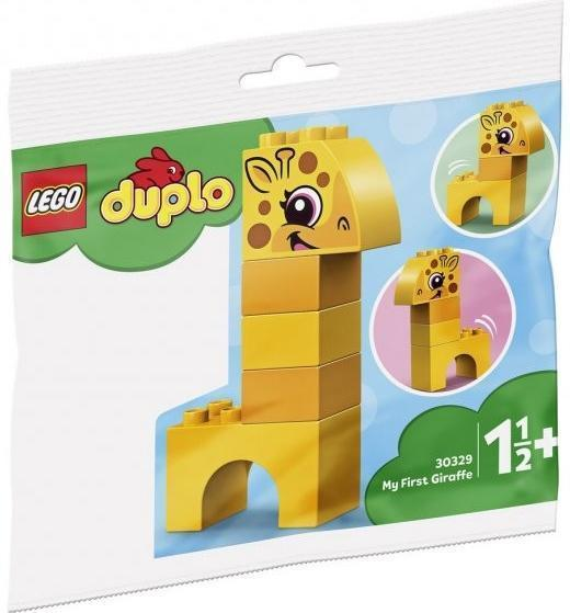 LEGO DUPLO 30329 MOJE PRVNÍ ŽIRAFA - Hračky