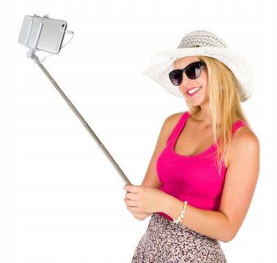 Selfie držák monopod tyč pro mobil galaxy / iphone 0150