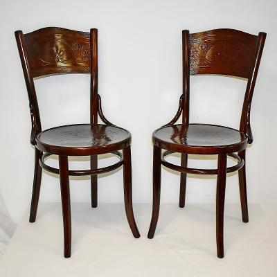 židle THONET - Mundus, po renovaci, cca 1930