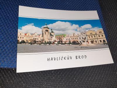 Pohlednice Havlíčkův Brod, neprošlé poštou.