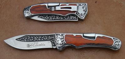 Zavírací nůž 3D zdobení 21/12 cm