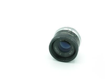 Zvětšovací objektiv na 6x6cm FUJIMOTO E-Lucky 75mm/4,5 (závit 39mm)