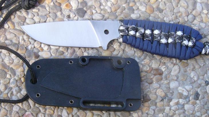Nůž na krk 19,5 cm - Střelba a myslivost