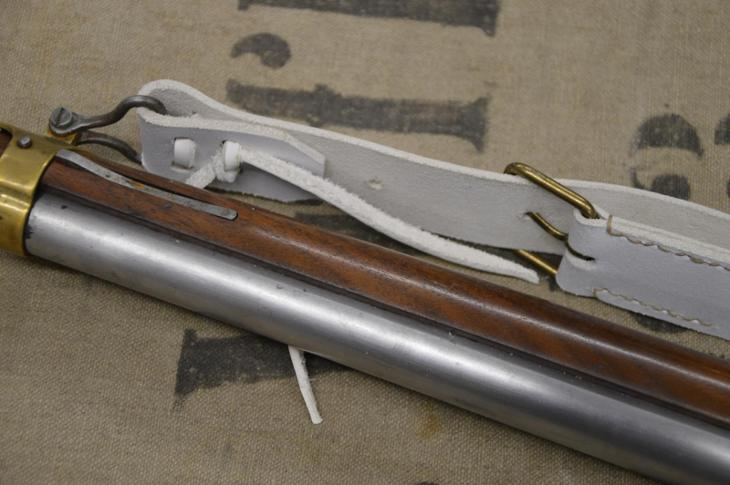 Řemen na křesadlovou pušku - Vojenské