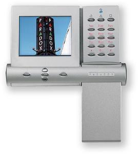 Grafická klávesnice PARADOX s velkým LCD displejem K07 různé 4 ks