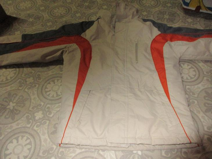 bunda teplá dámská béžová - Dámské oblečení