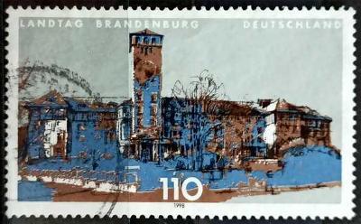 DEUTSCHLAND: MiNr.1977 Brandenburg 110pf, Parliament Building 1998