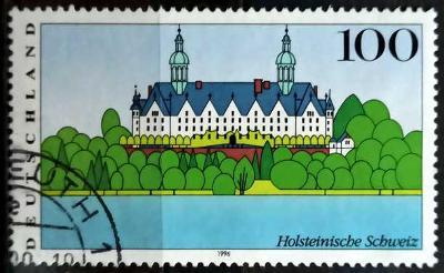 DEUTSCHLAND: MiNr.1849 Holstein Switzerland 100pf 1996