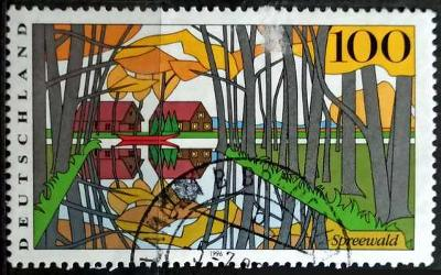 DEUTSCHLAND: MiNr.1851 Spreewald 100pf 1996