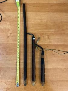 Troubel k fajfce, délka 21-51 cm, cena za 1 ks, v dobrém stavu