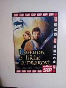 DVD, film Legenda o Jiřím a drakovi