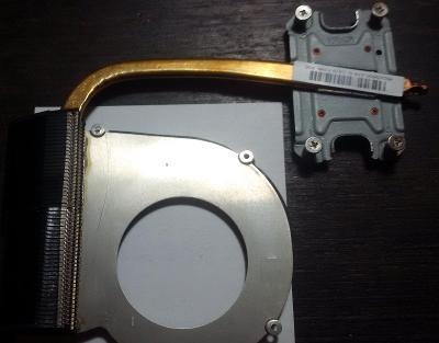 Chlazení CPU pro notebook HP650