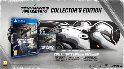 Tony Hawk´s Pro Skater 1+2 Collectors Edition (PS4) top stav! Sleva!