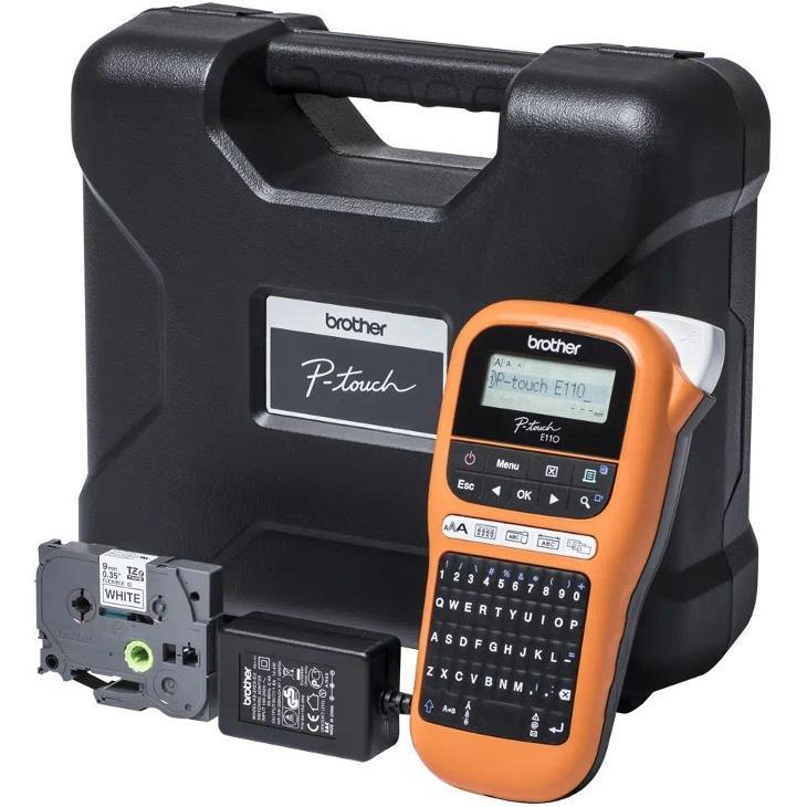 Profesionální tiskárna štítků Brother PT-E110VP - Příslušenství k PC