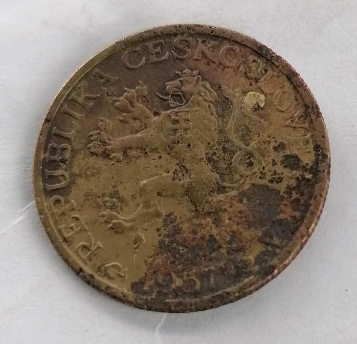 1kč 1957 - Numismatika