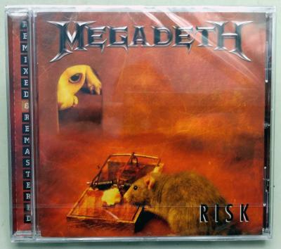 CD Megadeth – Risk 2004 EU nové