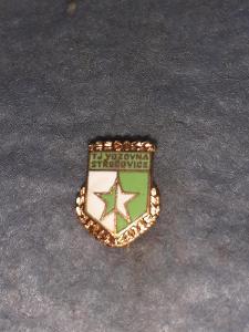Odznak TJ Vozovna Střešovice 60 let