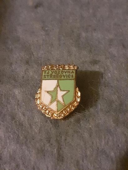 Odznak TJ Vozovna Střešovice 60 let - Faleristika