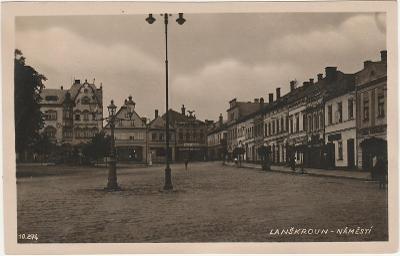 Česká Třebová Lanškroun - náměstí